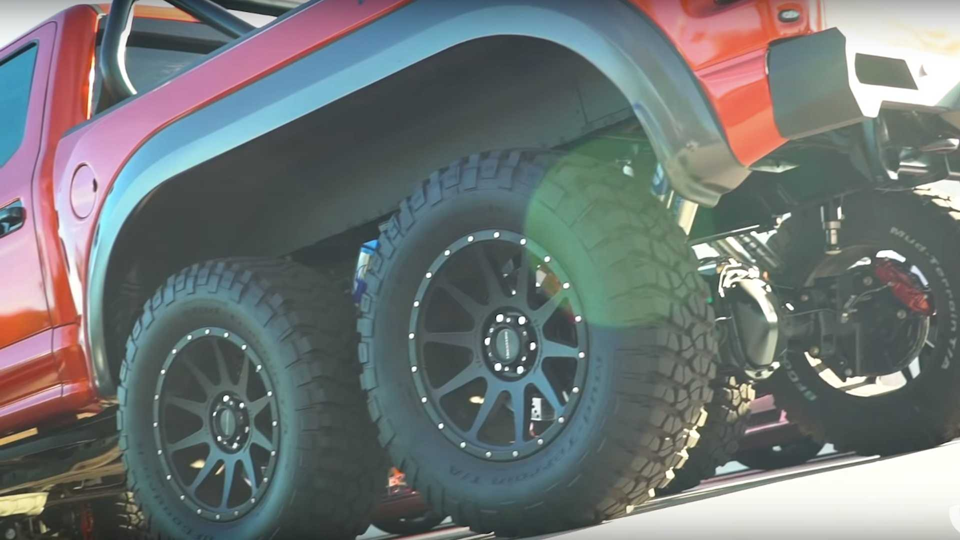 Ford F-150 Raptor 6x6, Tambah Axle ala Hennessey