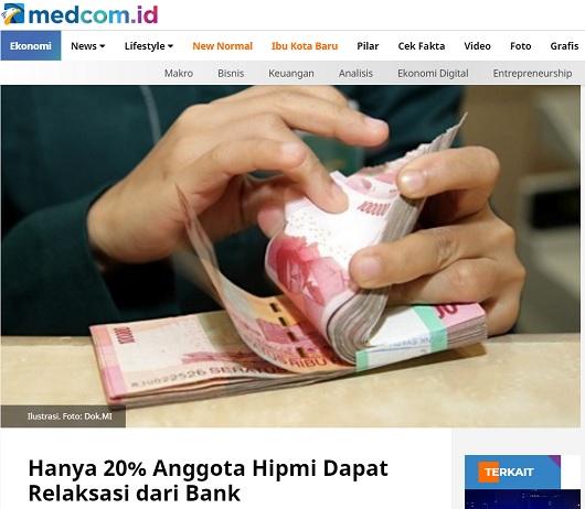 [Cek Fakta] 80 Persen Dana Covid-19 untuk Menyelamatkan Kredit Macet Korporasi Besar? Ini Faktanya