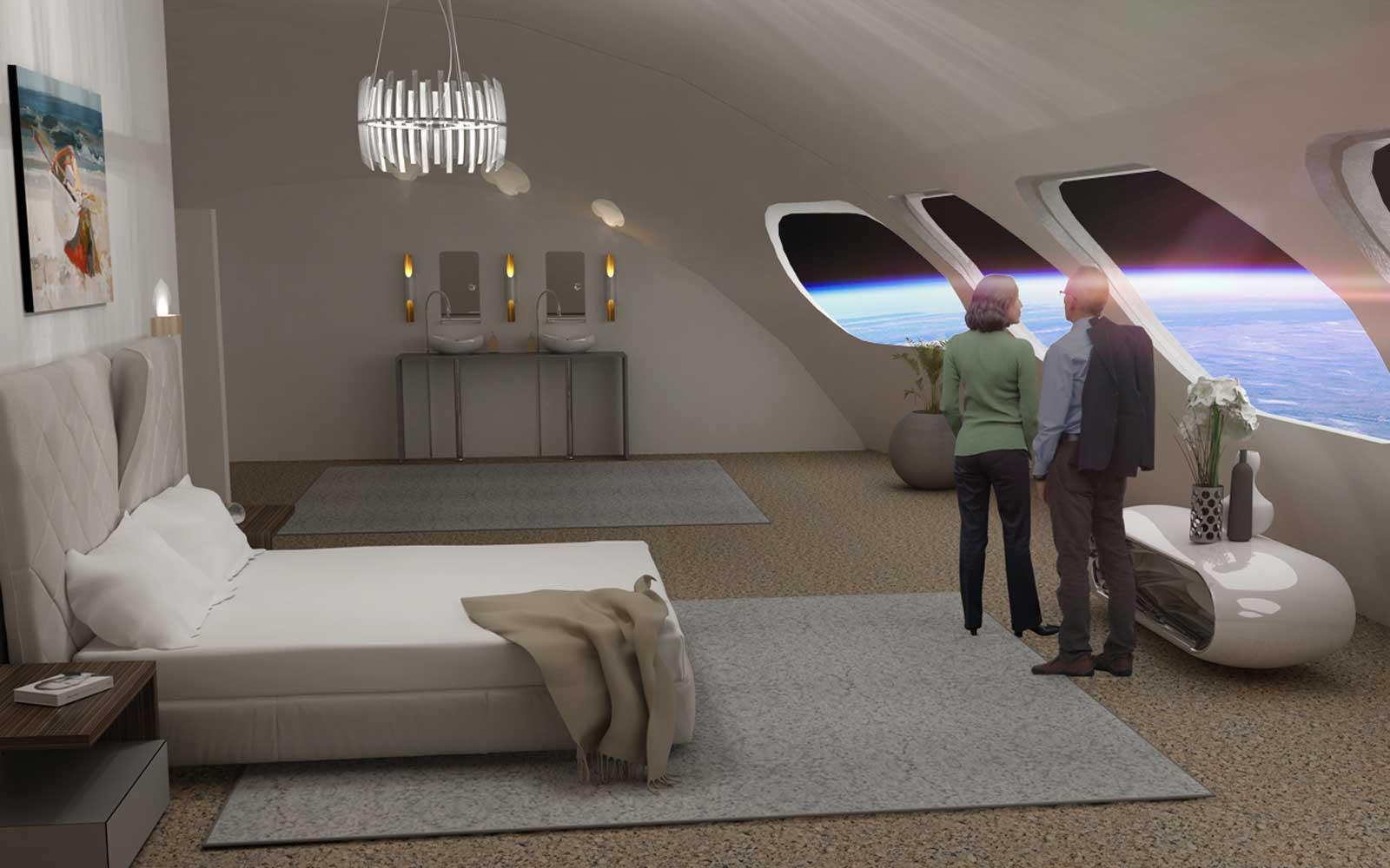 Hotel di Luar Angkasa Dibuka 2025