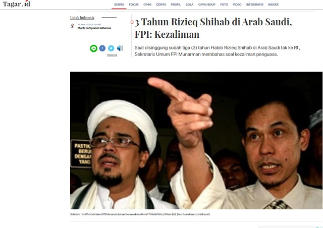 Cek Fakta Habib Rizieq Shihab Ditangkap Polisi Ini Faktanya