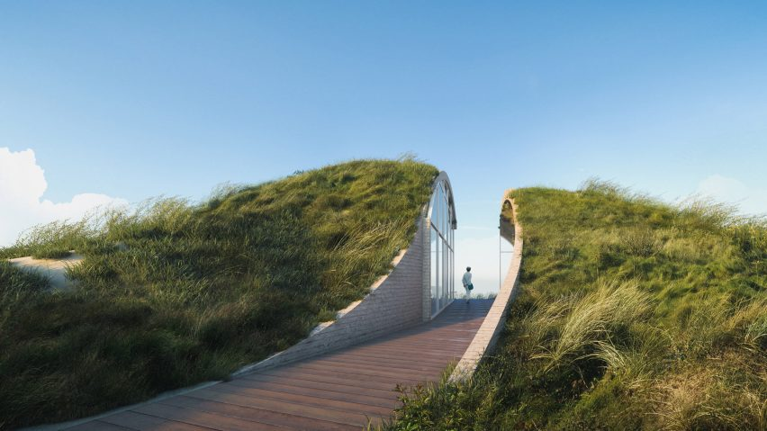 Hunian Tepi Pantai dengan Desain Memukau