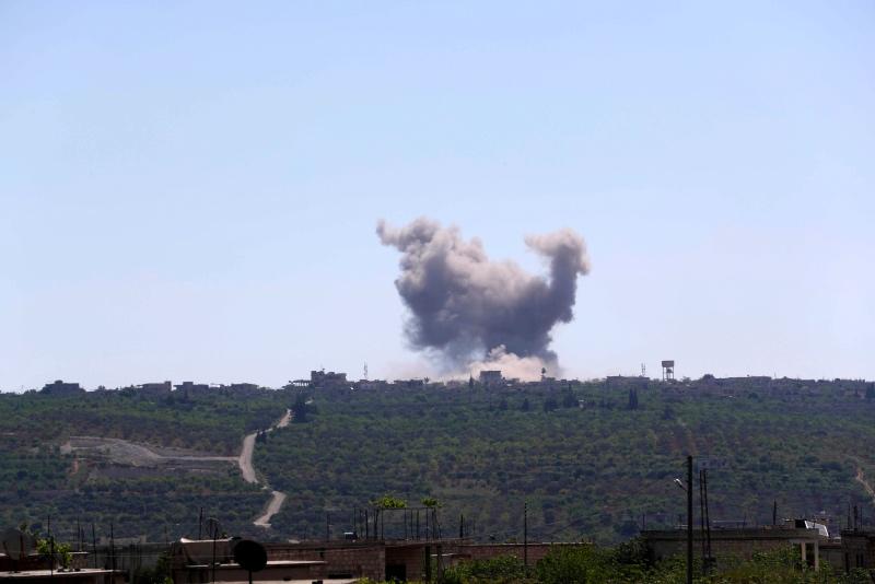 Warga Sipil Suriah Tewas dalam Serangan Udara Pemerintah