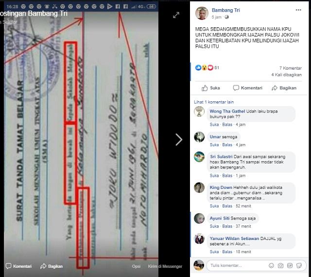 [Cek Fakta] Megawati sedang Membusukkan Nama KPU untuk Membongkar Ijazah Palsu Jokowi? Ini Faktanya