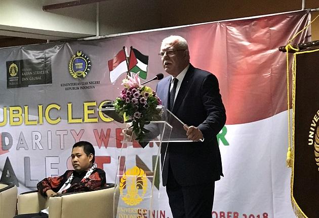 Indonesia Akan Menjadi Suara Palestina di DK PBB