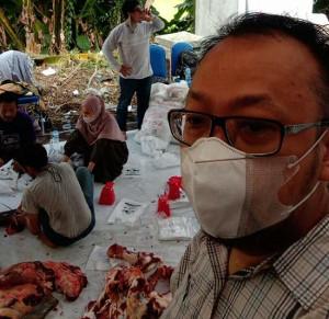 KNPI Kurban 24 Ekor Hewan untuk Warga Jabodetabek Terdampak Pandemi