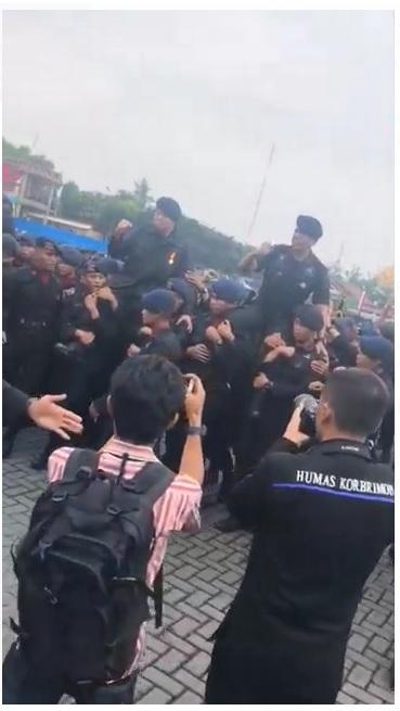 [Cek Fakta] Video Polri Telah Dikuasasi Orang China? Ini Faktanya