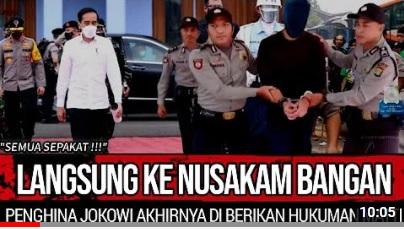 [Cek Fakta] Penghina Presiden Joko Widodo Divonis Hukuman Mati? Ini Faktanya