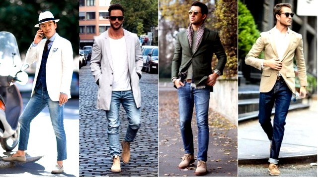 Padu Padan Trendi Jin Biru dan Sepatu