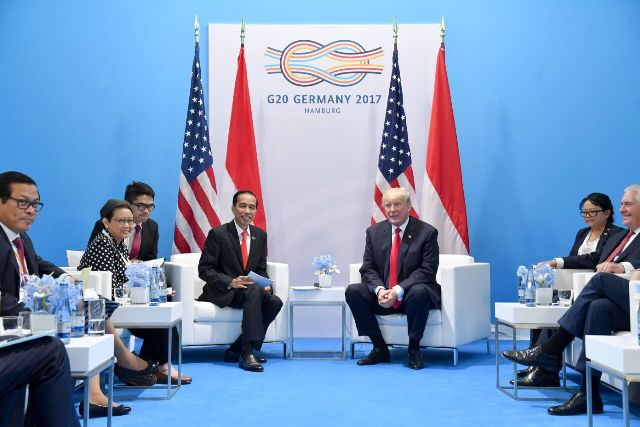 Jokowi-Trump Sepakati Peningkatan Kerja Sama Ekonomi dan Pemberantasan Terorisme