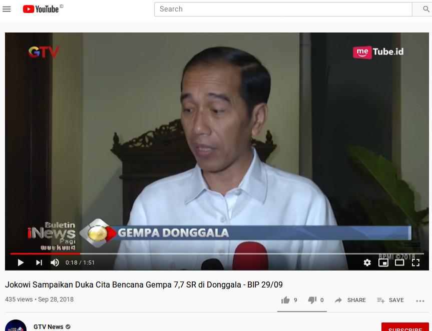 [Cek Fakta] Jokowi Imbau Masyarakat yang KDR Nonton Drakor Saja Kalau Bosan? Hoaks