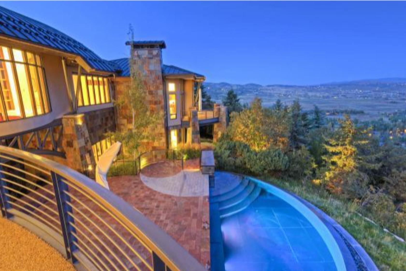Rumah Michael Jordan di Pegunungan Utah