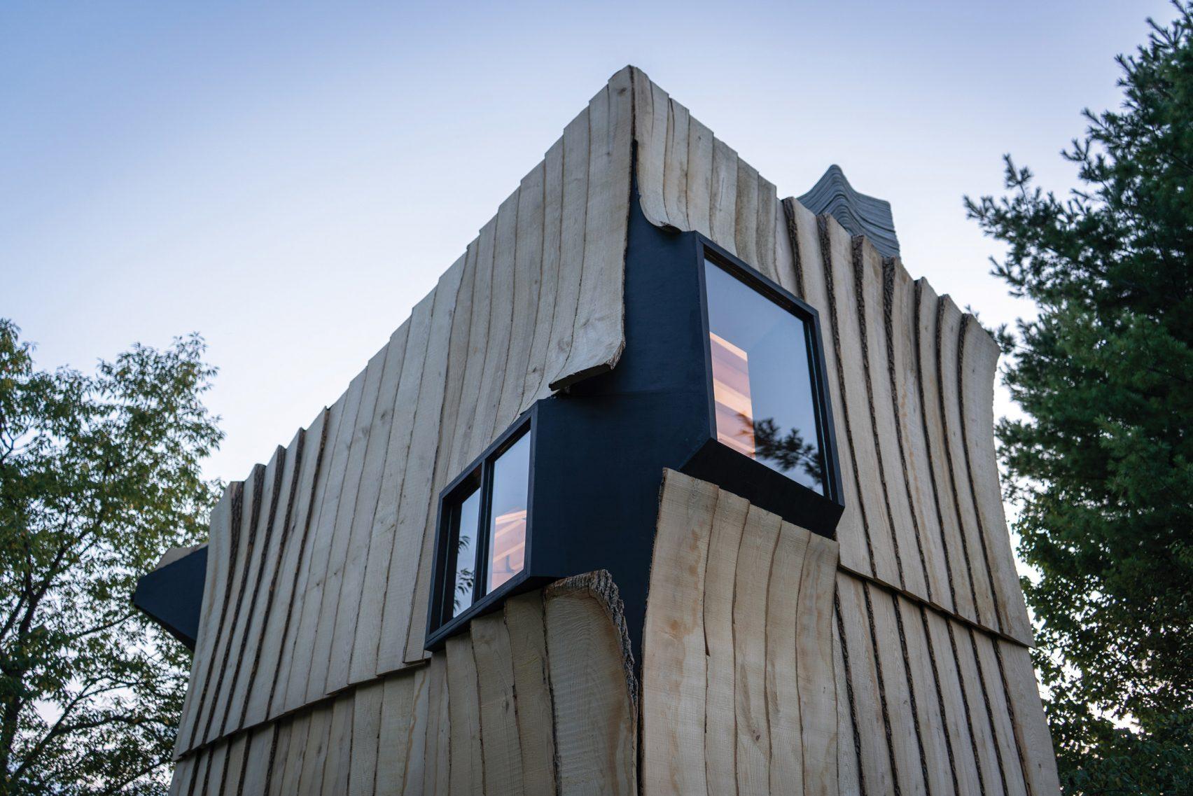 Kabin Unik dengan Teknologi Cetak 3D