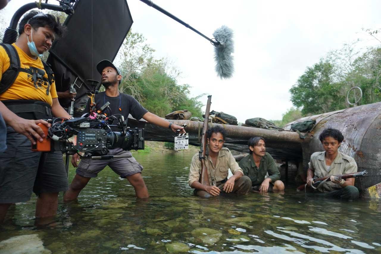 Penuhi Kebutuhan Syuting, Film Kadet 1947 Rakit Sembilan Pesawat Tempur