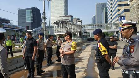 Kapolda Metro Jaya Pastikan Situasi Jakarta Aman