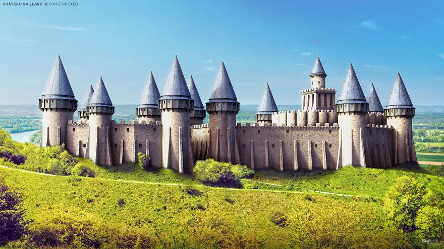 5 'Wajah' Kastil Terbesar di Eropa Sebelum Hancur