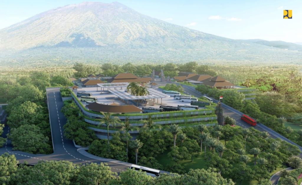 Kawasan Pura Besakih di Bali Mulai Ditata, Begini Desainnya