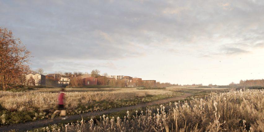 Kawasan Serba Kayu Pertama di Kopenhagen