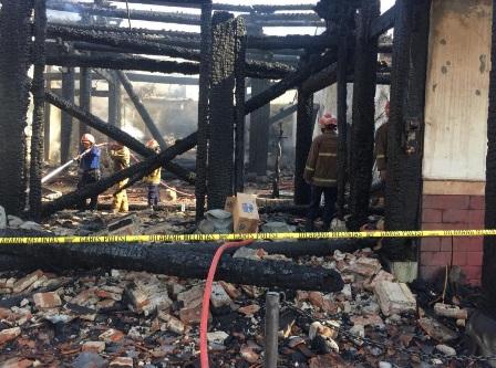 Kelenteng Kong Tik Soe Semarang Terbakar