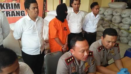 5 Ton Ketumbar Beracun Disita Polisi di Serang