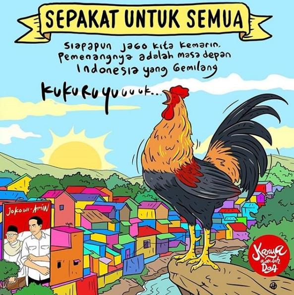 Gubernur Jatim Doakan Jokowi-Ma'ruf Selalu Amanah