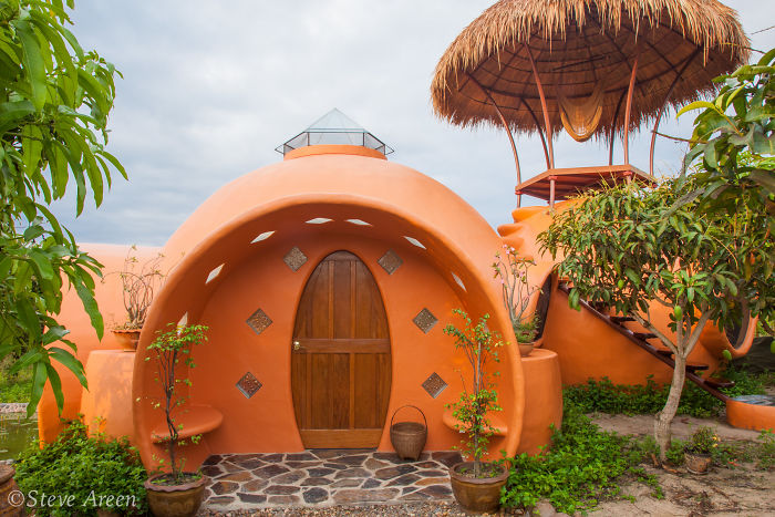 Rumah Dome yang Ramah Lingkungan