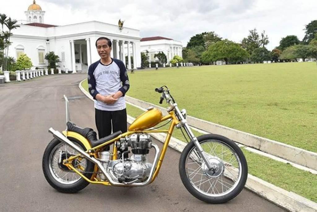 Ulang Tahun Presiden Jokowi, Mengintip Koleksi Sepeda Motornya