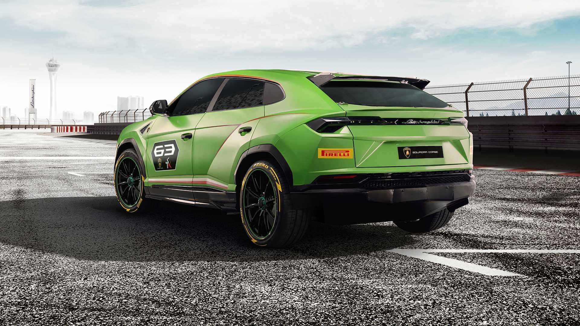 Diet Lamborghini Urus untuk Berlaga di Lintasan Balap