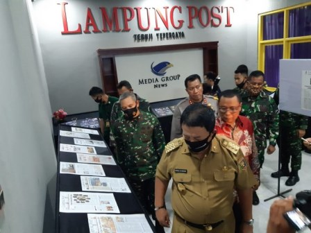 HUT Ke-46, Gubernur Tantang Lampung Post Kawal Pembangunan