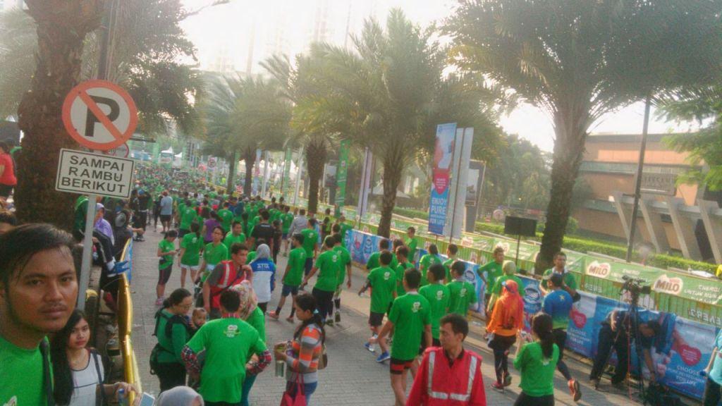 Wagub DKI Jakarta Buka Lomba Lari Jakarta Internasional 10K
