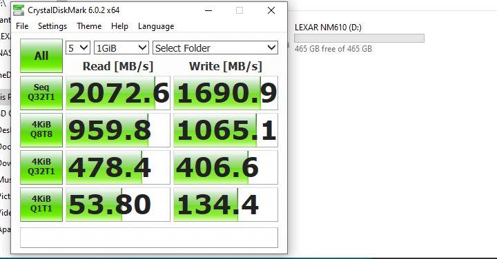 Lexar NM610 500GB, M.2 SSD Murah dan Kencang