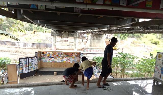 1000 Lukisan Anak di Bawah Jembatan Siluk