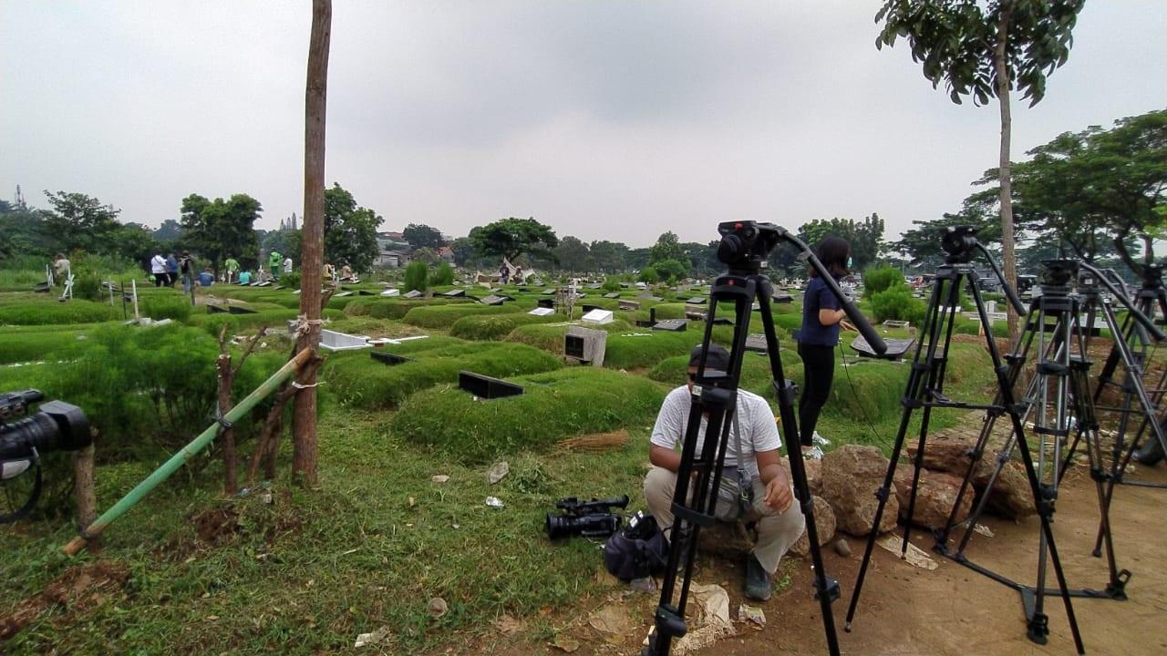 Suasana Terkini Pemakaman Glenn Fredly
