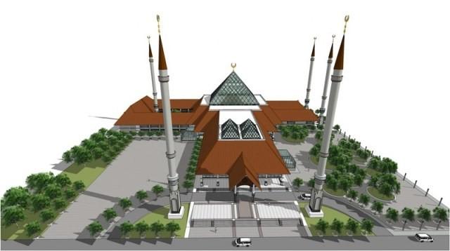 Jokowi: Masjid Raya Jakarta Simbol Islam Moderat