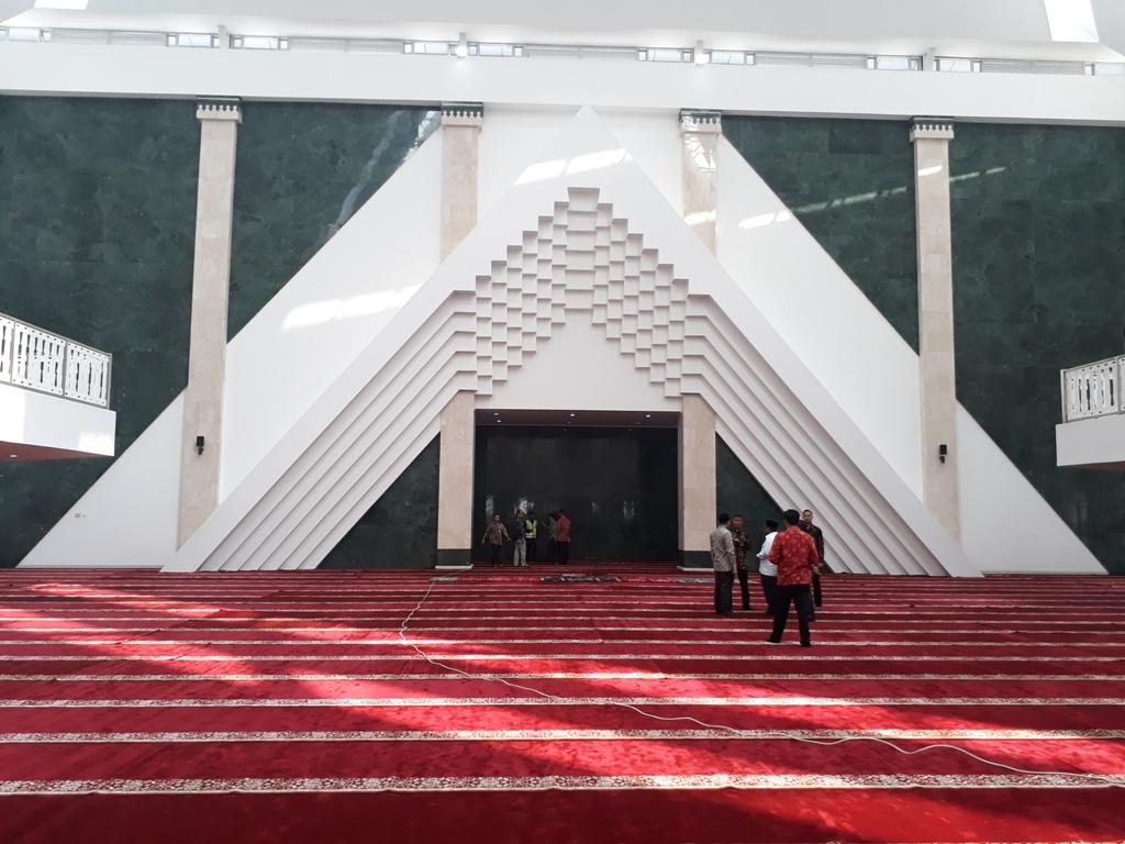 Plt Gubernur DKI: Peresmian Masjid Raya Jakarta tak Terkait Pilkada