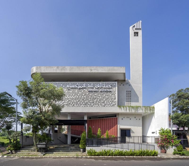 Desain Masjid Sarang Lebah yang Terinspirasi Surat An-Nahl