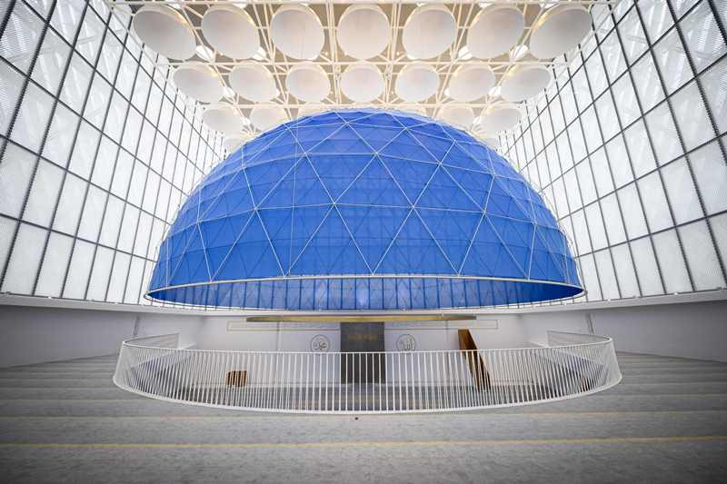 Masjid Pertama Slovenia Gabungkan Arsitektur Islam dan Kontemporer
