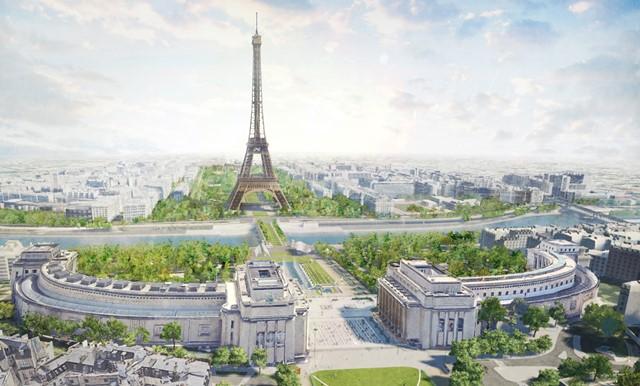 Sambut Olimpiade, Area di Menara Eiffel Bakal Direnovasi