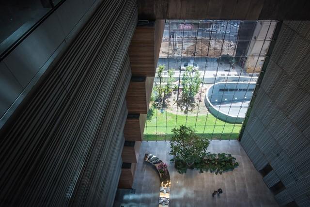 Gedung Perkantoran dengan Desain Memutar di Israel