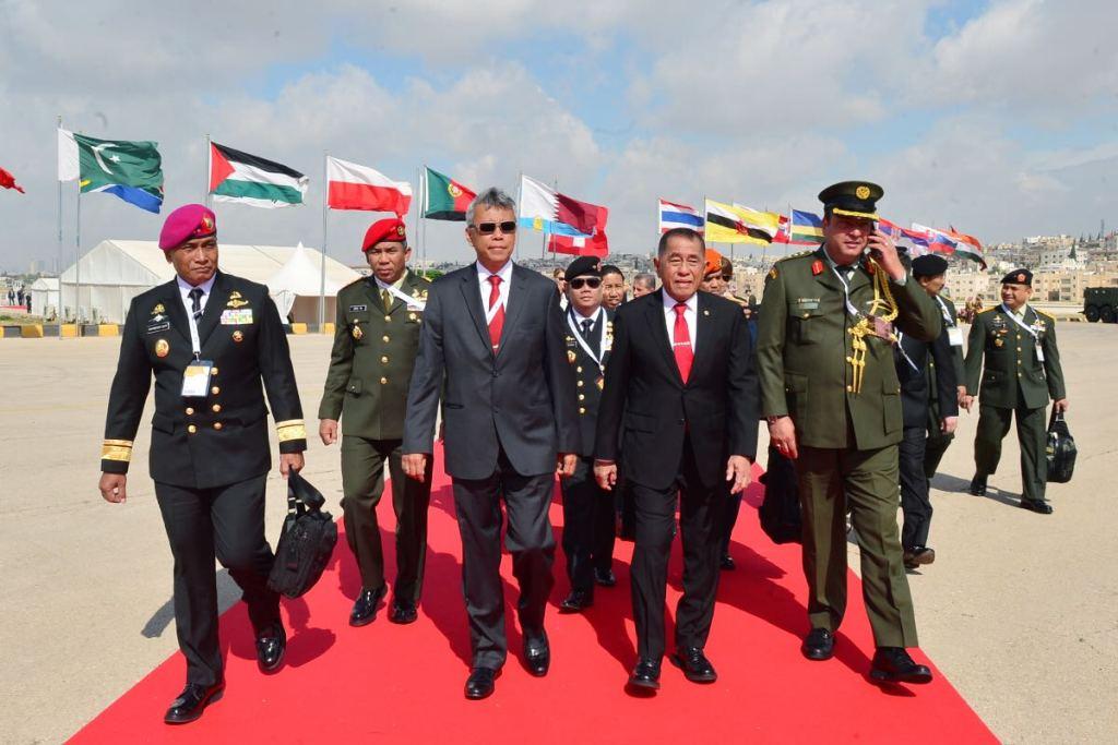 Indonesia-Yordania Rancang Alutsista Antiteroris