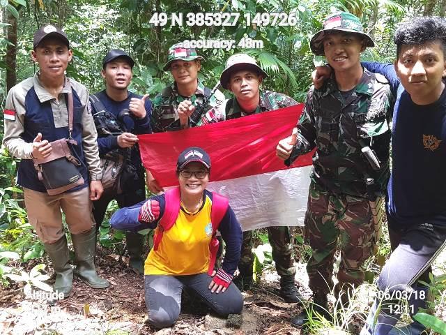 Semangat Monik Menjaga Perbatasan RI dan Malaysia