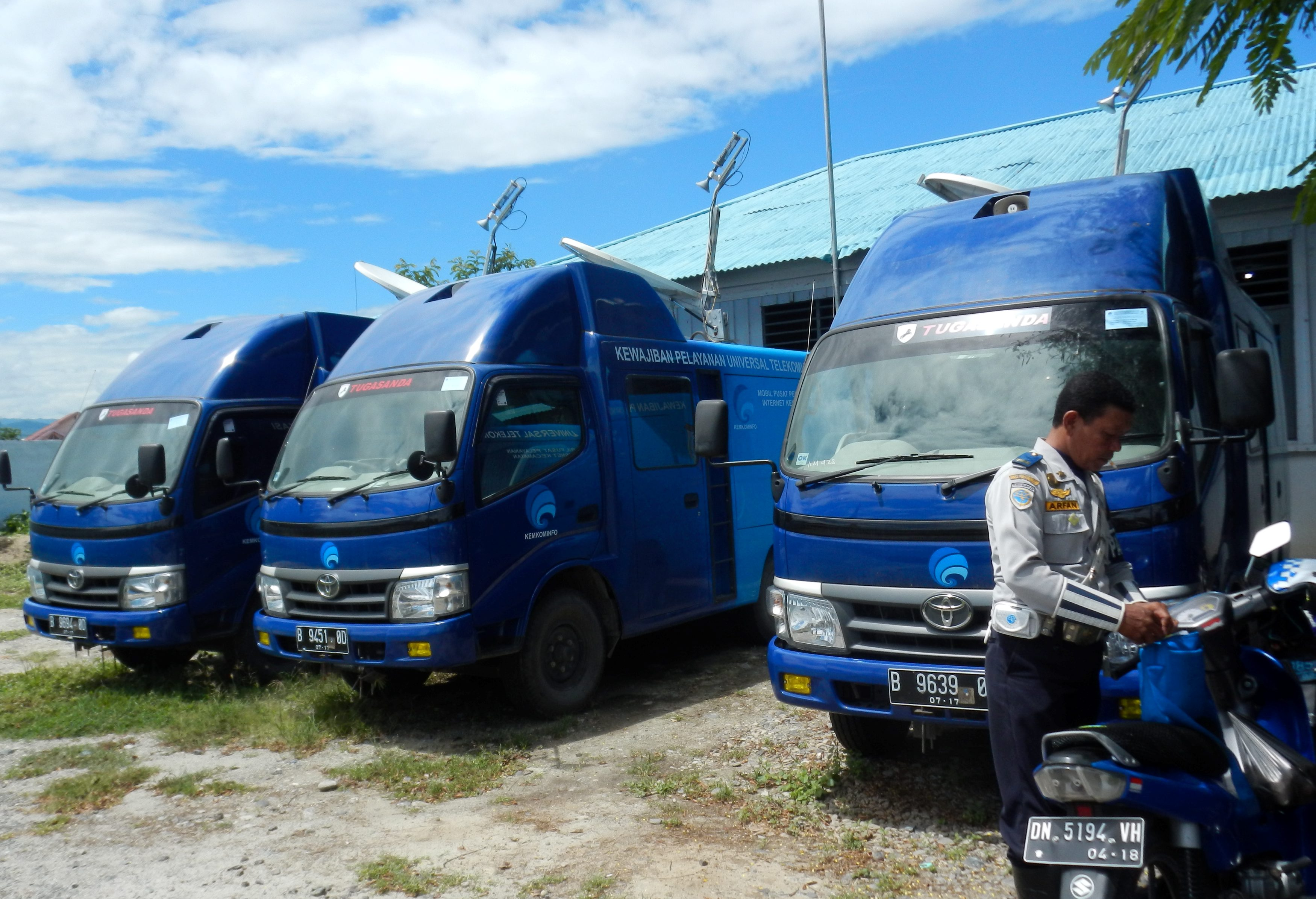 Anggota DPR Sayangkan Mobil Internet Kecamatan Terbengkalai