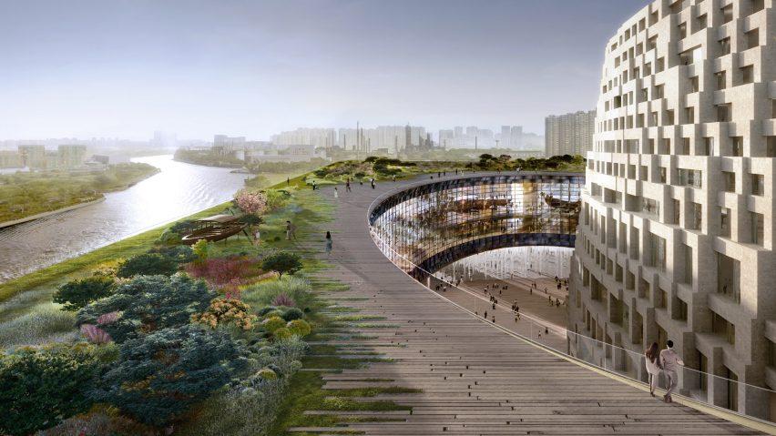 Museum Berbentuk Kapal di Sungai Buatan Terpanjang