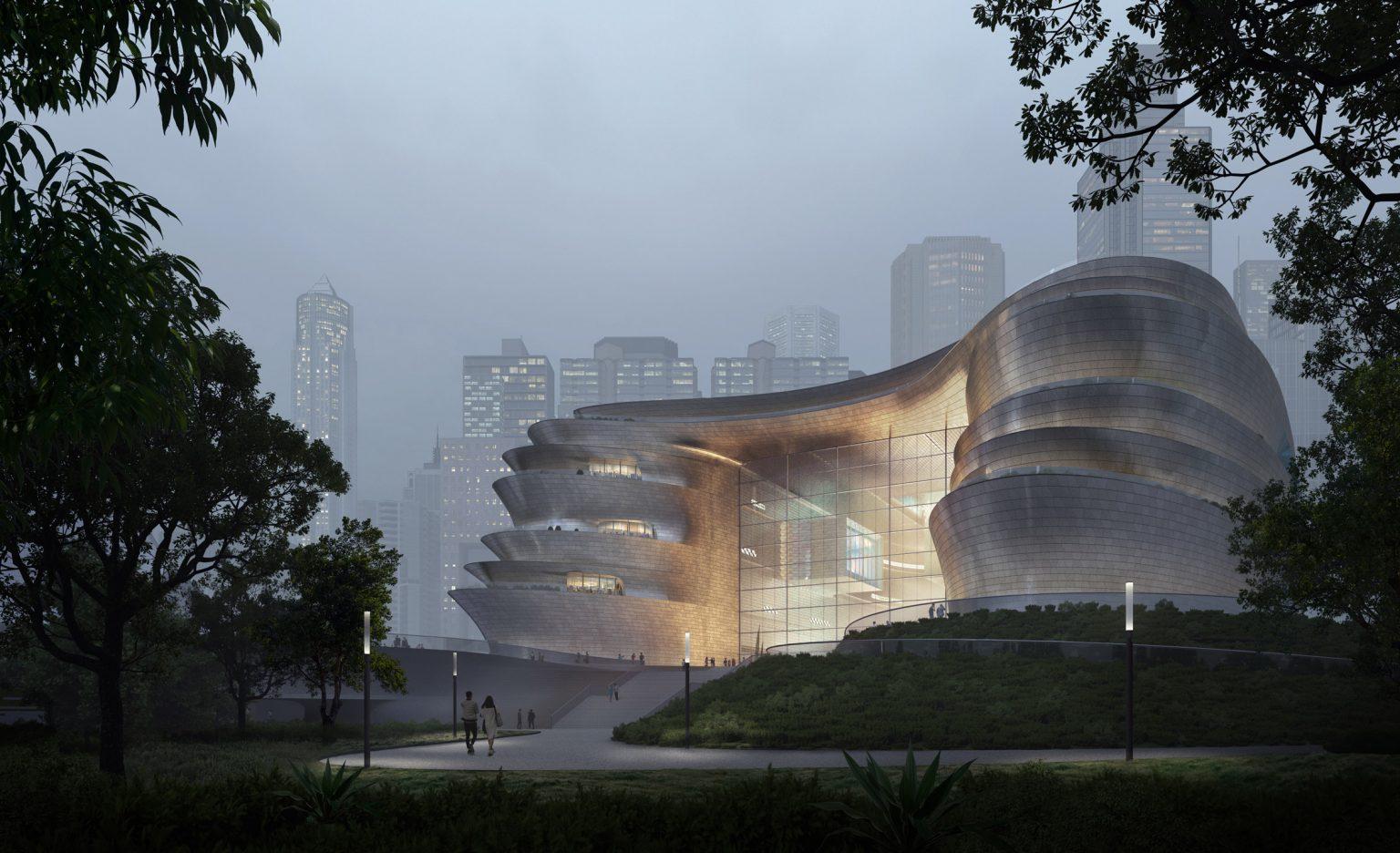 Museum Berbentuk Unik Bakal Dibangun di Shenzhen