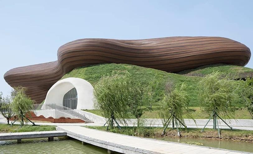 Museum Unik Menyerupai Instrumen di Tiongkok