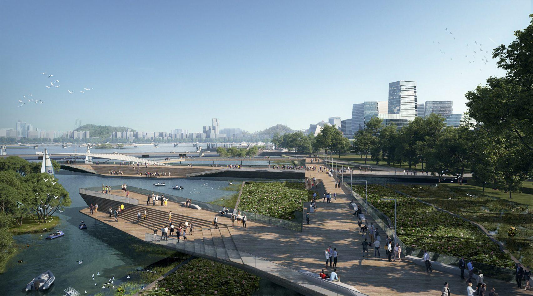 Net City, Kawasan Masa Depan Tanpa Mobil di Shenzhen