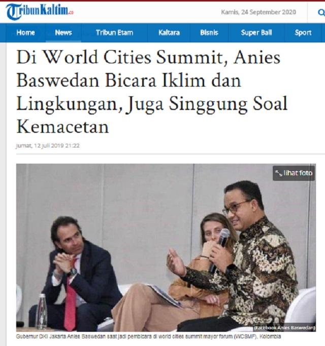 [Cek Fakta] Anies Baswedan Dinobatkan jadi Gubernur Terbaik Dunia? Ini Faktanya