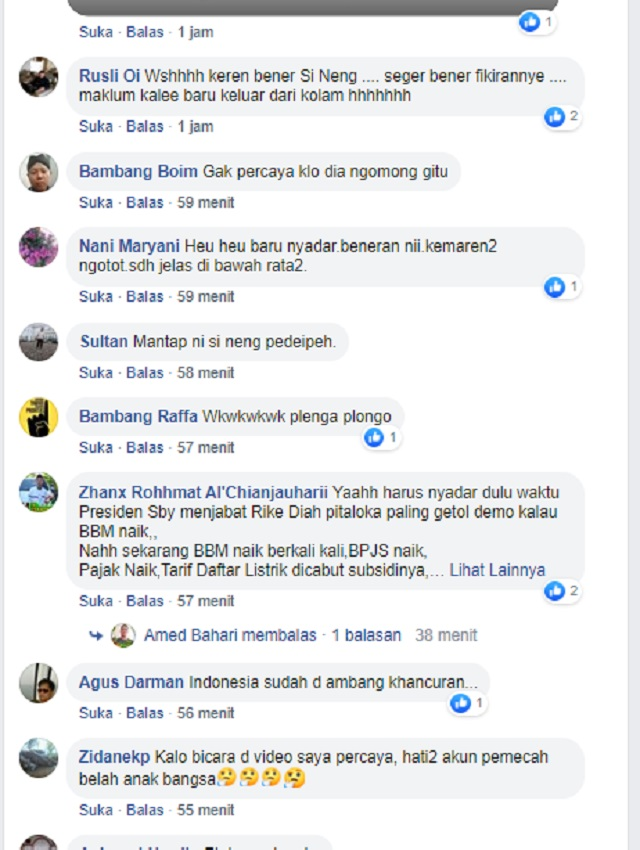 [Cek Fakta] Politikus PDIP Rieke Diah Pitaloka Minta Presiden Jokowi Mundur? Ini Faktanya