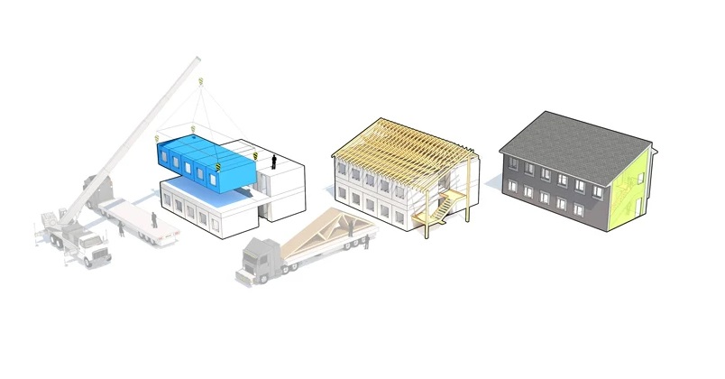 Desain Rumah Murah bagi Tunawisma di Oregon