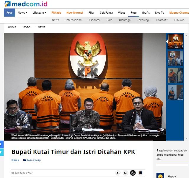 [Cek Fakta] KPK Berhasil OTT Anies Baswedan di Balik Penyelewengan Mimpi Warga Jakarta? Ini Faktanya