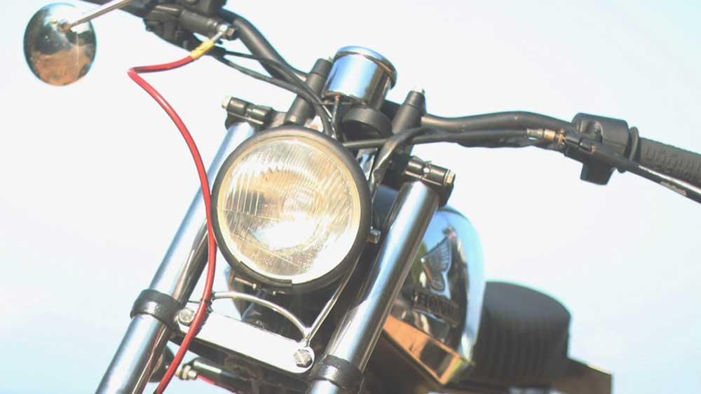 Honda Gl 100 Restorasi Motor Klasik Untuk Harian